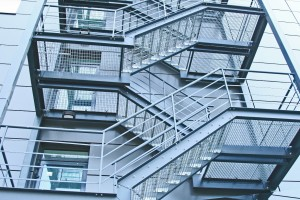 external fire escapes