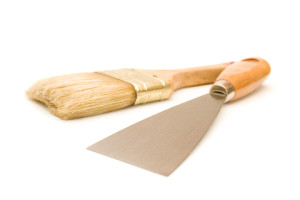 http://www.dreamstime.com/royalty-free-stock-image-paintbrush-putty-knife-image4794276