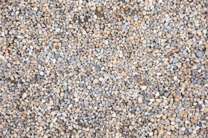 Lot of pebble stone as textured background.